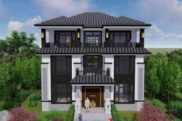 江西九江阮家新中式別墅