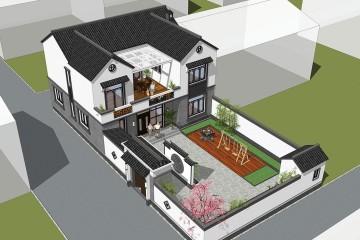 山西運城趙家新中式宅院