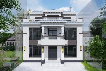 河南南陽謝家新中式別墅