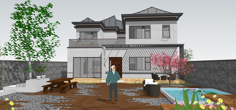 北京顺义方家自宅_别墅图纸设计 - 图纸中心 - 易盖房