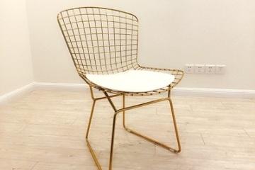 镂空铁丝椅 铁艺创意家具餐椅