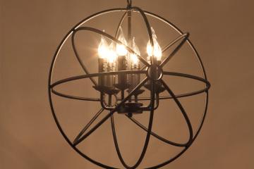 餐廳工業復古吊燈