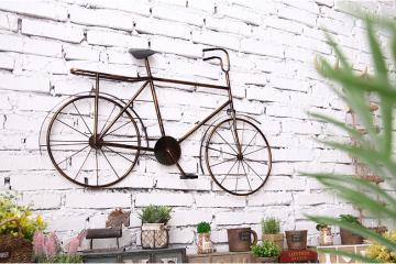 复古铁艺自行车壁挂