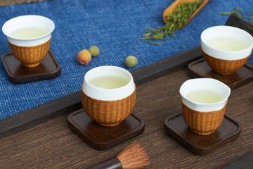 四君子茶杯