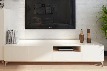 北歐簡約實木電視柜