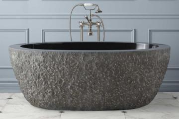 天然石大浴缸