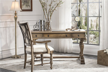 復古實木書桌