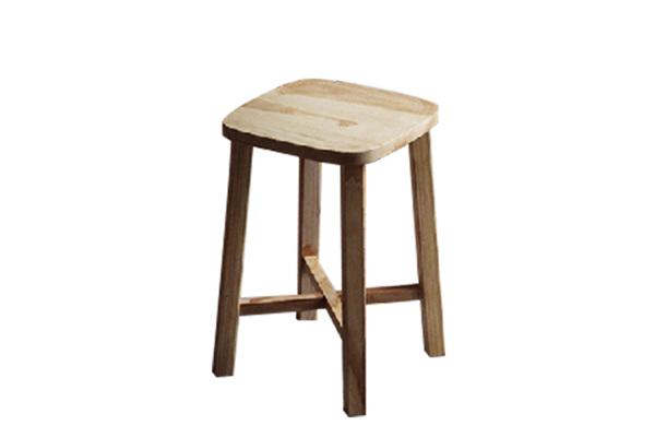 吧台凳矮凳白蜡凳子