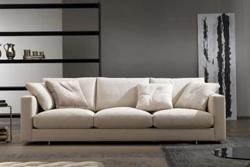 現代防水布藝沙發