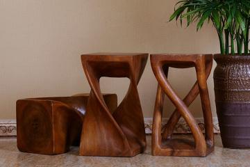 创意实木凳子方凳曲木凳