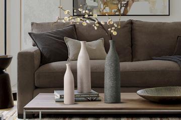 现代简约陶瓷插花花瓶
