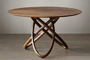 北美黑胡桃木圆桌