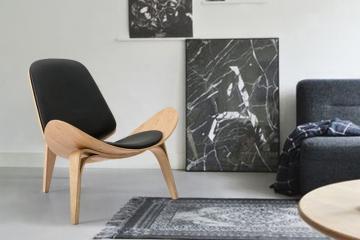 个性贝壳设计师椅