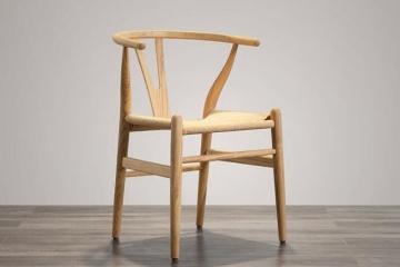 北美白蜡木实木餐椅