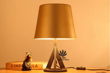 卧室床头灯三角金沙台灯