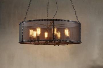 loft工业复古吊灯