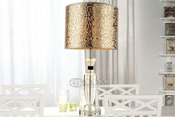 奢华水晶台灯