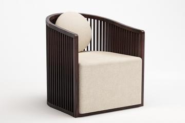 新中式实木圈椅