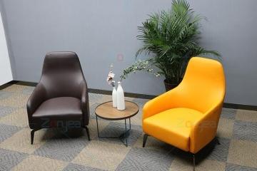 現代休閑椅簡約創意單人沙發