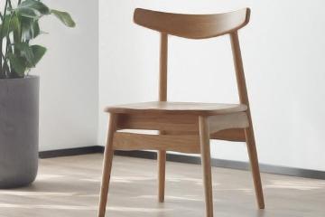 現代簡約實木餐椅