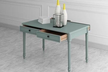 摩登美式实木项目餐厅餐桌