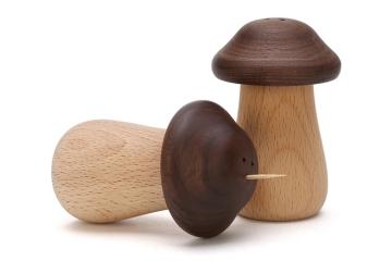 蘑菇牙签罐