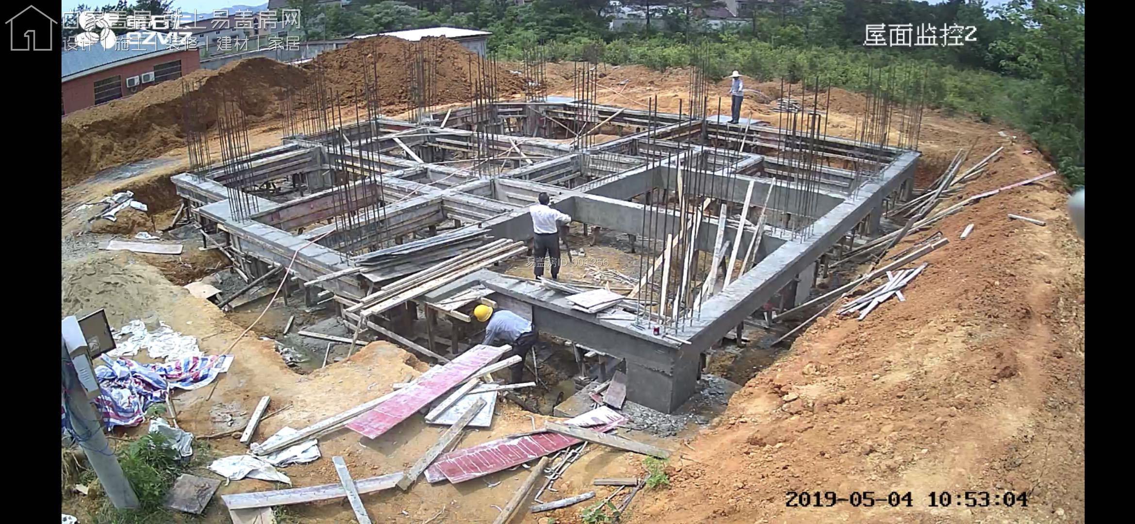 安徽安慶姜先生別墅項目工地直播