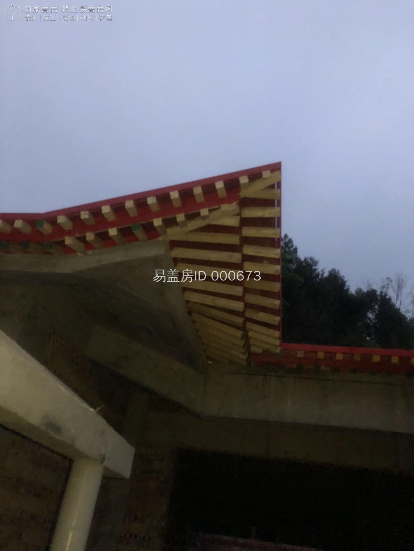 四川綿陽蘇家中式別墅工地直播