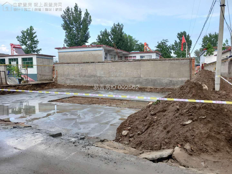 河北涿州齊雪平別墅工地直播
