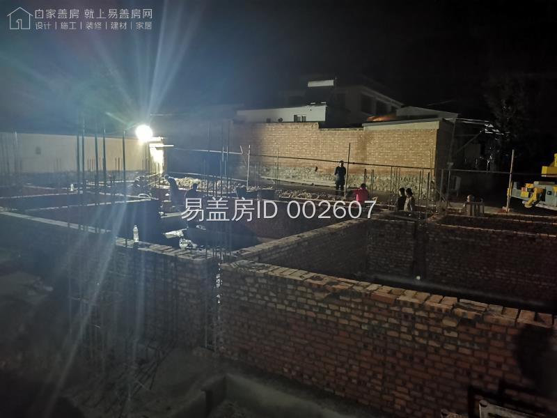 北京房山隗合浩別墅工地直播