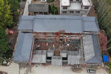 安徽亳州王鑫四合院工地直播