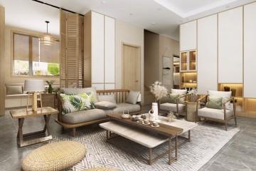 北京房山张家现代别墅室内装修