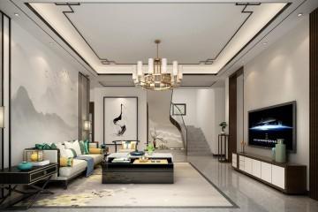 北京平谷張家別墅室內裝修