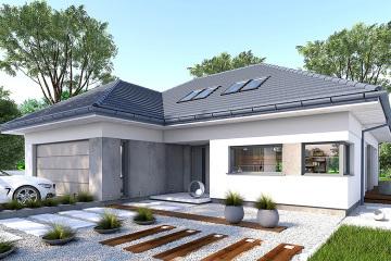 廣州現代住宅別墅設計圖紙