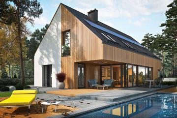 兩層現代住宅