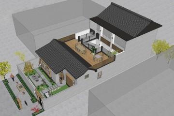 陕西张家自宅改扩建项目