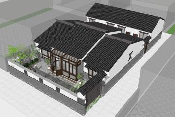 北京順義馬家新中式別墅