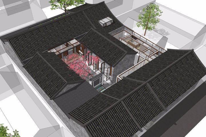 北京大耳胡同四合院改造项目