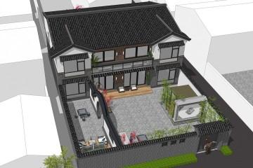 北京懷柔梁家新中式別墅
