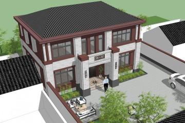 河北廊坊陈家新中式别墅