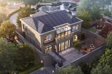 北京順義二層張家歐式別墅