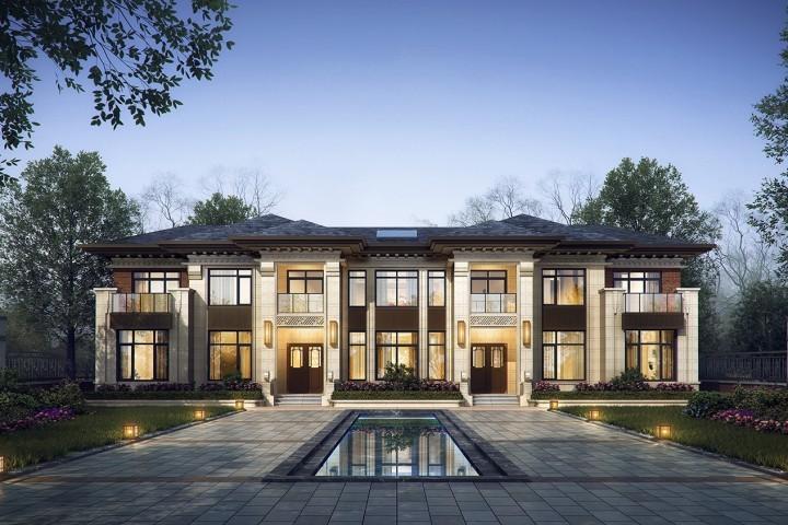 湖北荊州王家新中式別墅