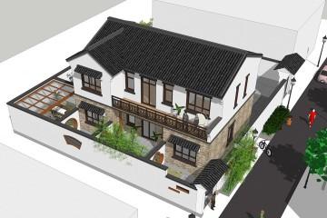 海南瓊海陸家新中式鄉墅