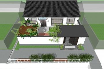 北京密云冯家新中式宅院