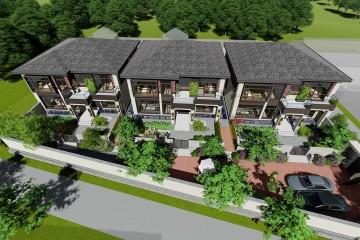 北京順義馬家新中式聯排別墅