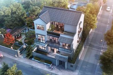 廣西南寧曾家新中式別墅