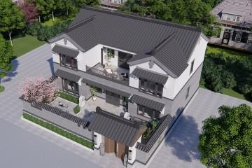 河北承德马家新中式别墅