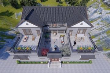 福建福州胡家新中式别墅