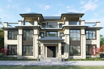 湖南长沙张家新中式别墅