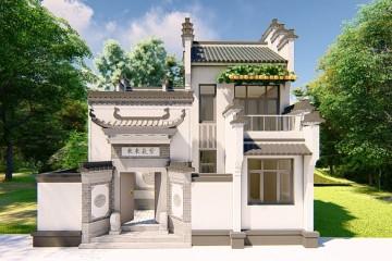 湖北黃岡吳家中式宅院